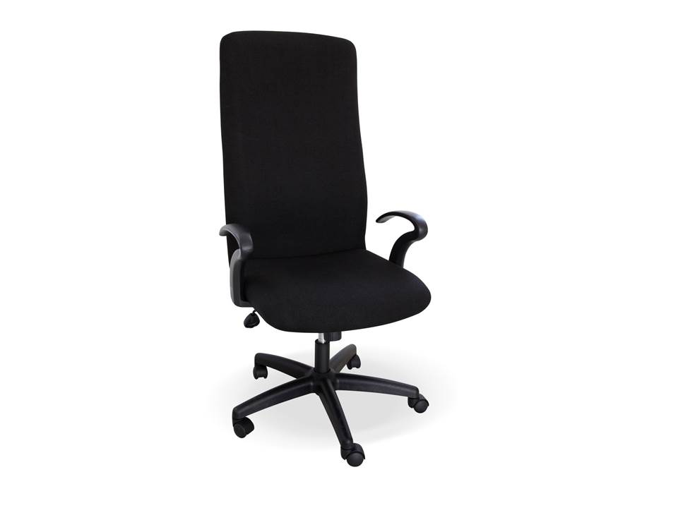 Montreal High Back Chair Black Fabric Only Mtr101 Ofsg