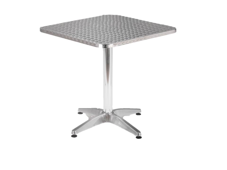 Aluminium Cafe Table Sangria ASCT700800  OFSG  Office Furniture Suppliers  -> Aluminium Table