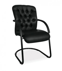 Adda PU Visitors Arm Chair ADB30