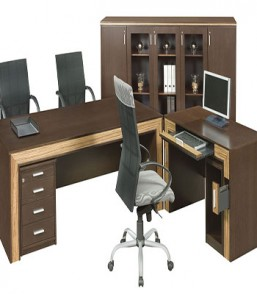 Balsa Executive Desk with Computer Extention & Mobile Pedetal BLSD2000