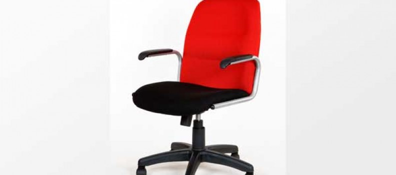 Busy Slim Line Medium Back Chair