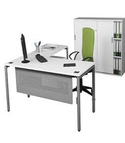 Evolution Managerial Desk with Extension