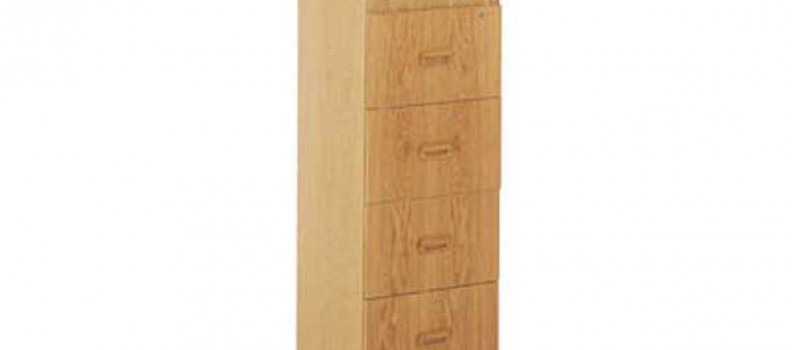 Execuline 4 Drawer Filing Cabinet