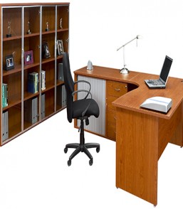 Focus25 Managerial Desk with R/D Pedenza