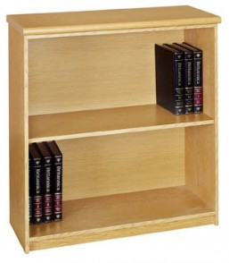 Formline 2 Tier Open Bookcase