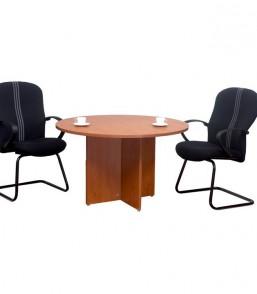 Focus 1000mmDia Round Conf Table