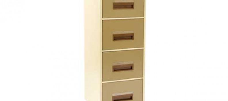 Metal 4 Draw Filing Cabinet