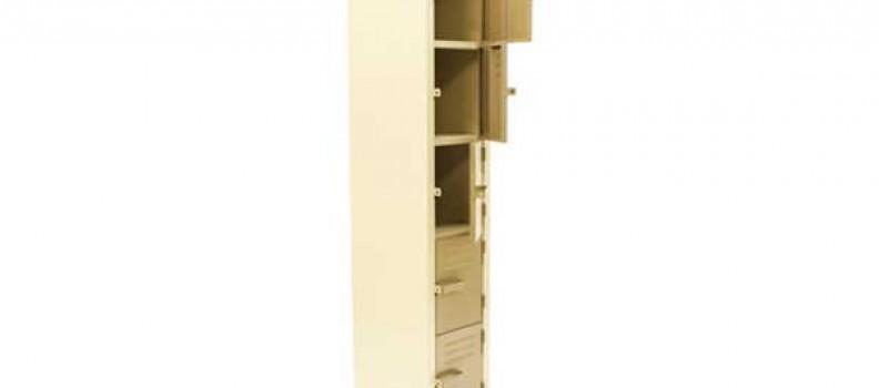 Metal 5 Comp Factory Locker