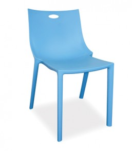 Neptune Blue Café Dining Chair NPT80BLU